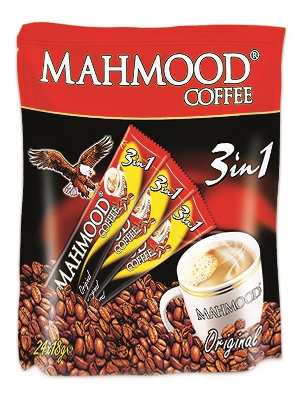 Mahmood Coffee 3 in 1 - 24 Sticks