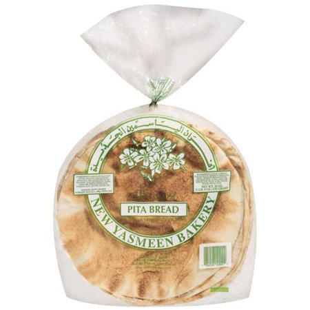 Yasmeen White Pita Bread 10 Loafs - Papaya Express
