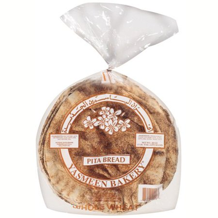 Yasmeen Whole Wheat Pita Bread 10 Loafs - Papaya Express