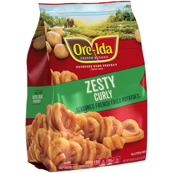 Ore Ida Zesty Curly Fries 22oz - Papaya Express