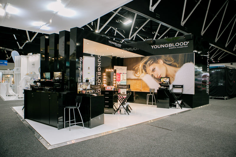 Youngblood at Sydney Beauty Expo
