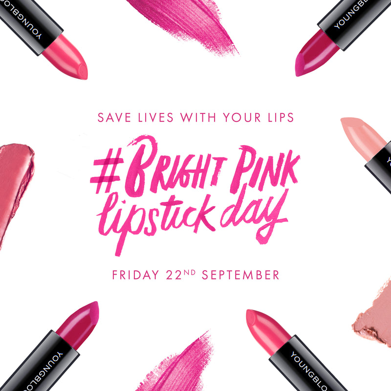 Bright Pink Lipstick Day 2017