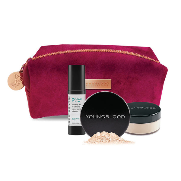 Complexion Essentials Kit (FREE Loose Foundation)