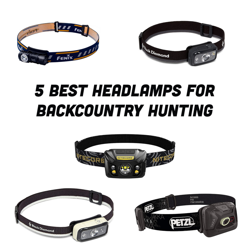 Best Headlamps for Backcountry Hunting