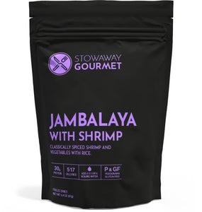 Stowaway Gourmet Jambalaya with Shrimp