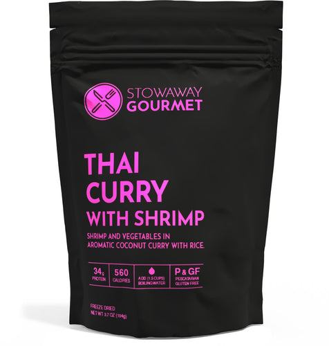 Stowaway Gourmet Thai Curry with Shrimp