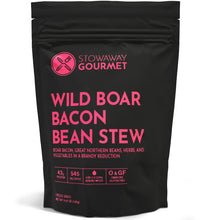 Load image into Gallery viewer, Stowaway Gourmet Wild Boar Bacon Bean Stew