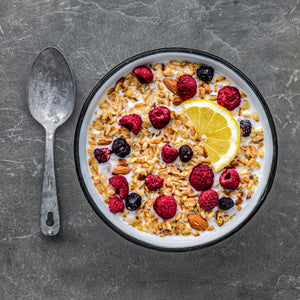 Alpen Fuel Lemon Berry Granola