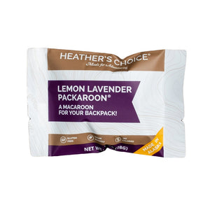 Heather's Choice Lemon Lavender Packaroons (Single Pack)