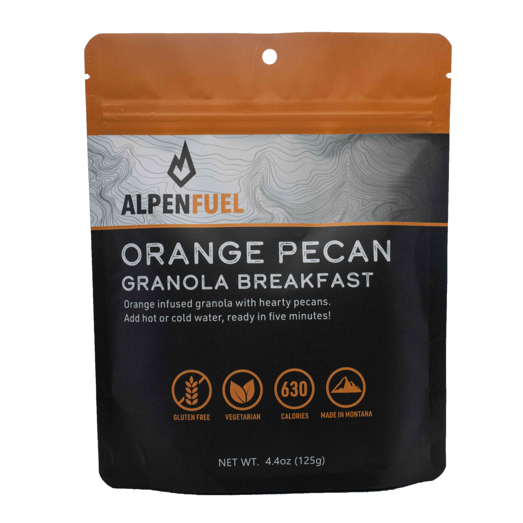 Alpen Fuel Orange Pecan Granola