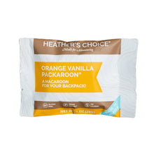 Load image into Gallery viewer, Heather's Choice Orange Vanilla Packaroons (Single Pack)