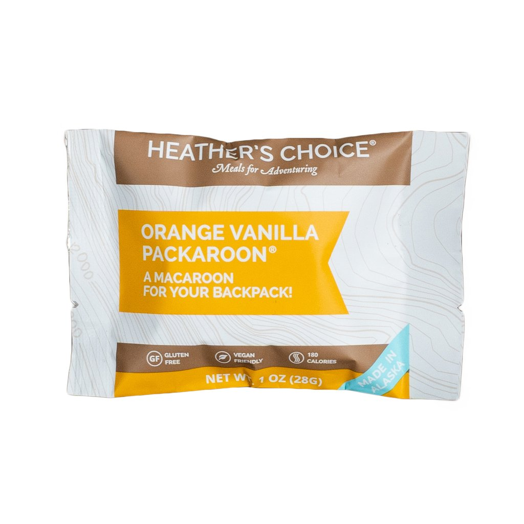 Heather's Choice Orange Vanilla Packaroons (Single Pack)
