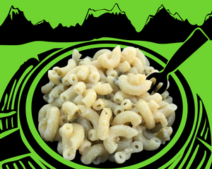 Fishski Hatch Green Chile Mac and Cheese