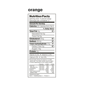 Skratch Labs Sport Energy Chews 2-Pack Orange