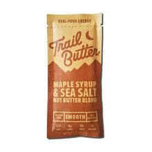 Load image into Gallery viewer, Trail Butter Maple Syrup & Sea Salt Blend 1.15oz Pouch