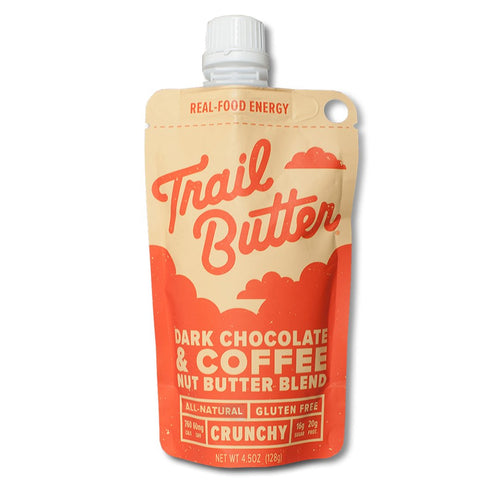 Trail Butter Dark Chocolate & Coffee Blend 4.5oz Pouch