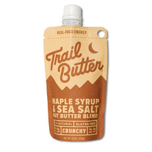 Load image into Gallery viewer, Trail Butter Maple Syrup & Sea Salt Blend 4.5oz Pouch