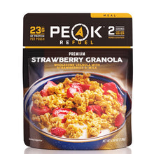 Load image into Gallery viewer, Peak Refuel Strawberry Granola Meal