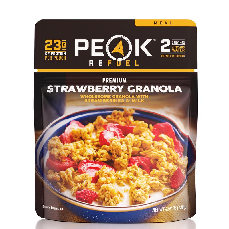 Peak Refuel Strawberry Granola Meal