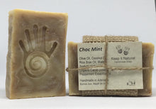 Choc Mint is the ultimate wake me up soap scented with Peppermint essential oil