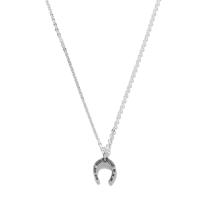 Tiny Horseshoe Necklace | Giles & Brother