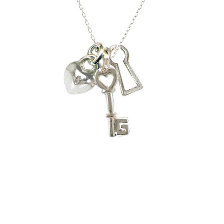 "Tiny ""Way In"" Sterling Silver Necklace 