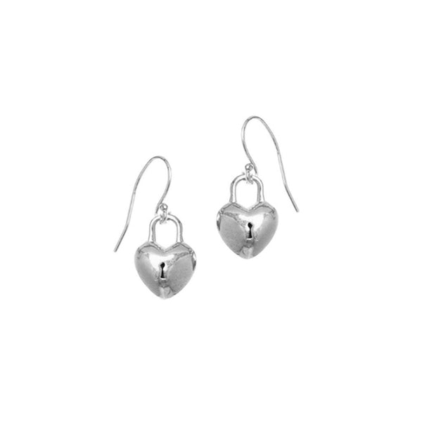 Heart Locket Earrings | Giles & Brother