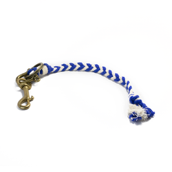 Fishtail Braided Rope Key Fob | Giles & Brother