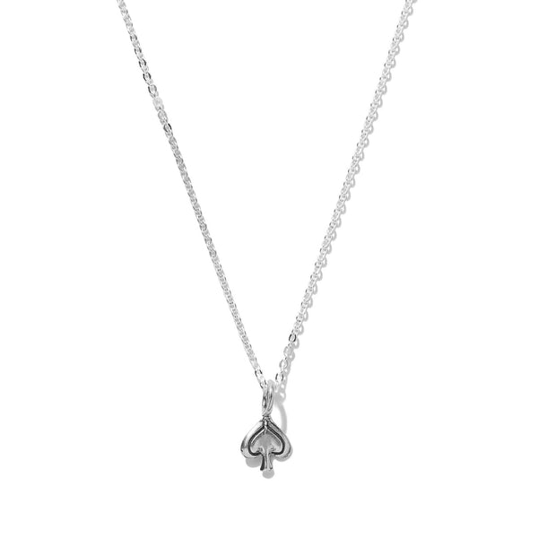 Tiny Spade Necklace | Giles & Brother