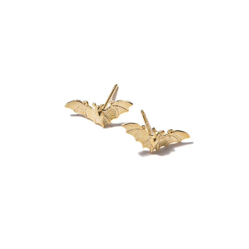 Tiny Bat Earrings | Giles & Brother
