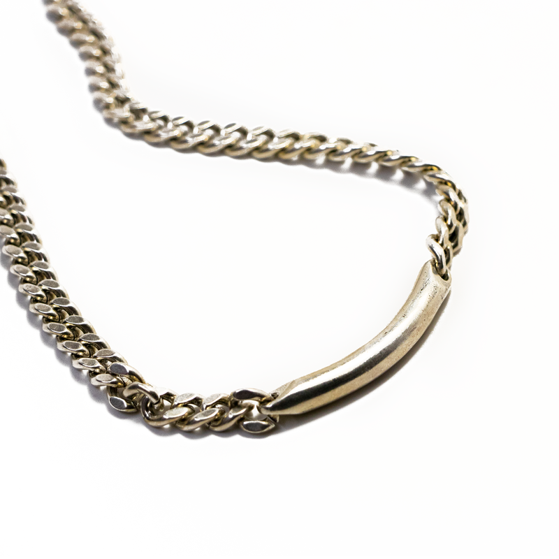 Brass Id Chain Necklace | Giles & Brother