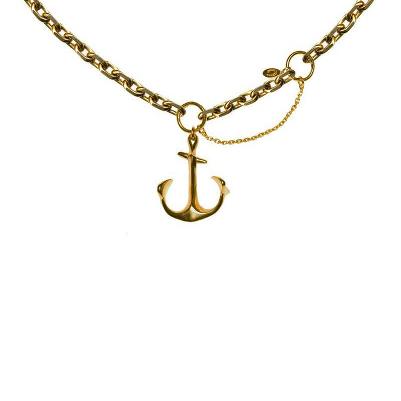 Large Anchor Necklace | Giles & Brother