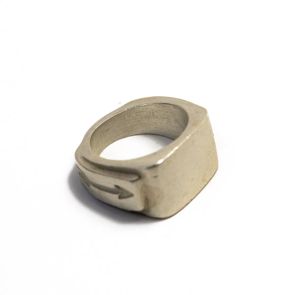 Signet Ring In Sterling Silver | Giles & Brother