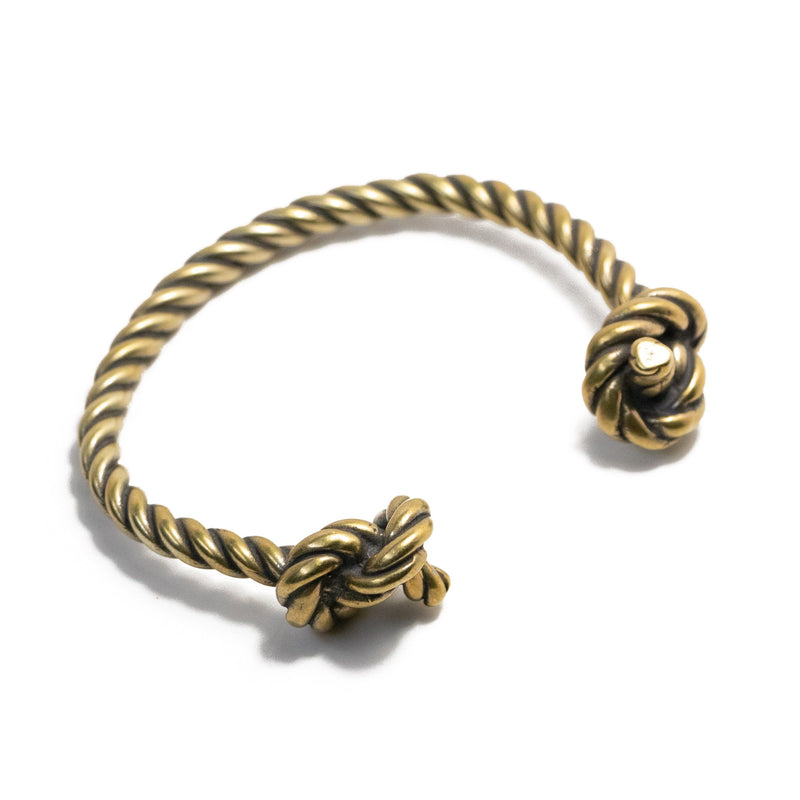 Twisted Knot Open Cuff