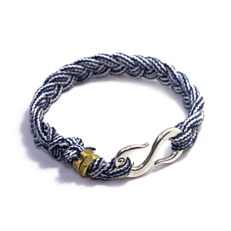 Braided Rope S Hook Wrap Bracelet
