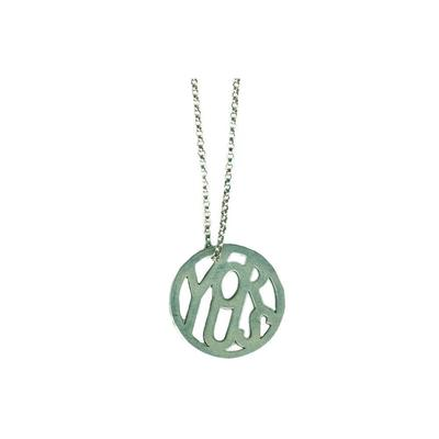 Sterling Silver Message Medallion | Giles & Brother