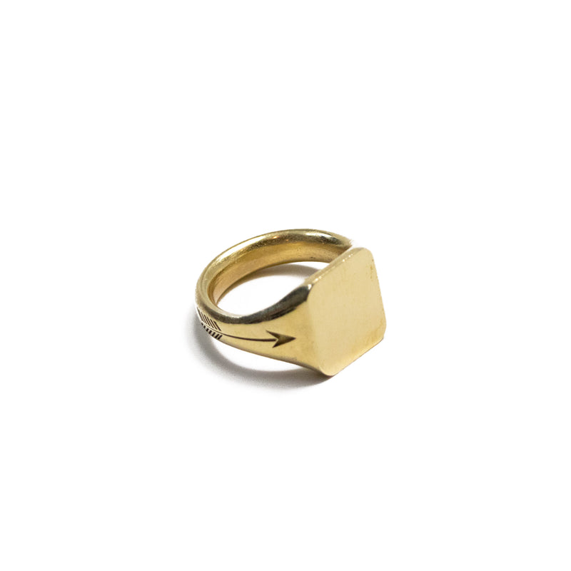 The Rectangle Signet Ring