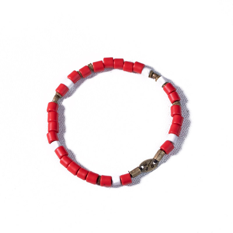 Faceted Beaded Stack - You pick the colors