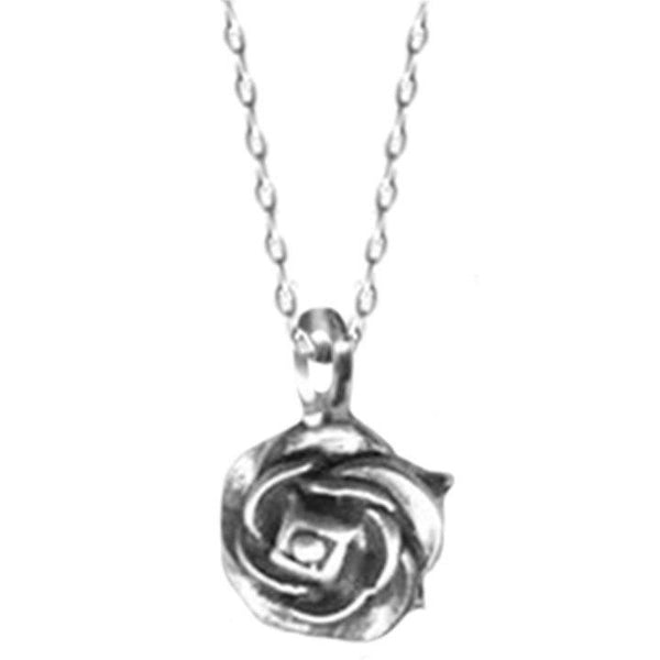 Tiny Rose Necklace | Giles & Brother