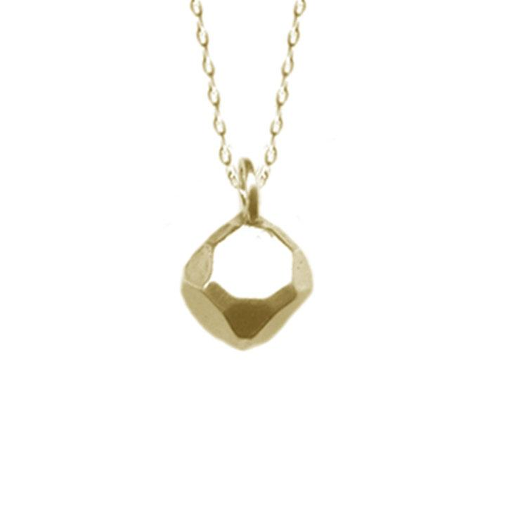 Tiny Hexahedron Necklace | Giles & Brother