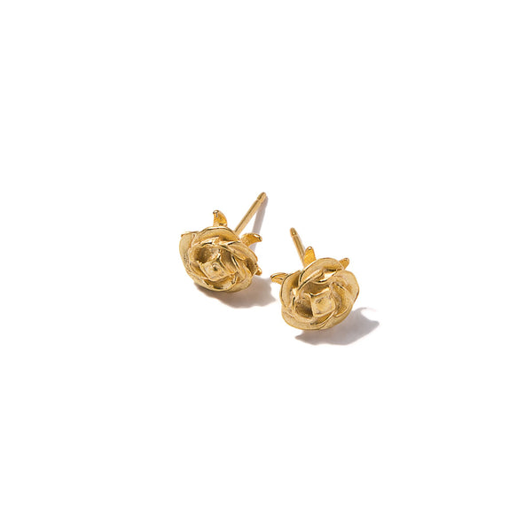 Tiny Rose Earrings | Giles & Brother