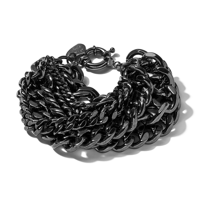 Large Multi-Chain Bracelet | Giles & Brother