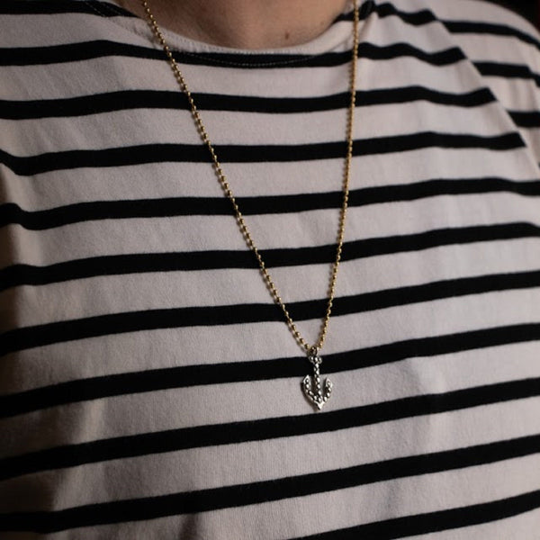 Studded Anchor Charm | Giles & Brother