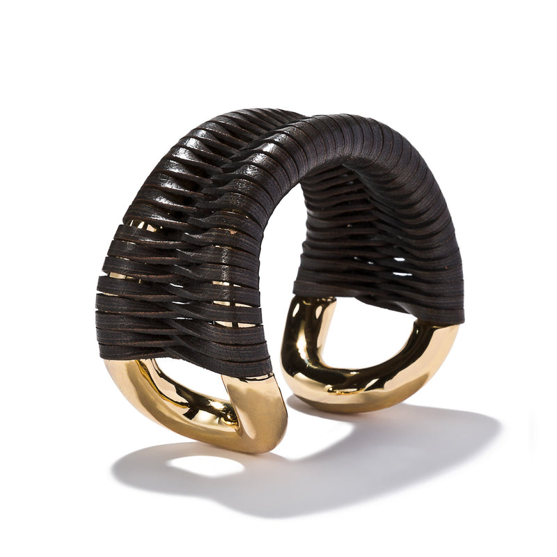 Original Cortina Cuff with Leather Lashing | Giles & Brother