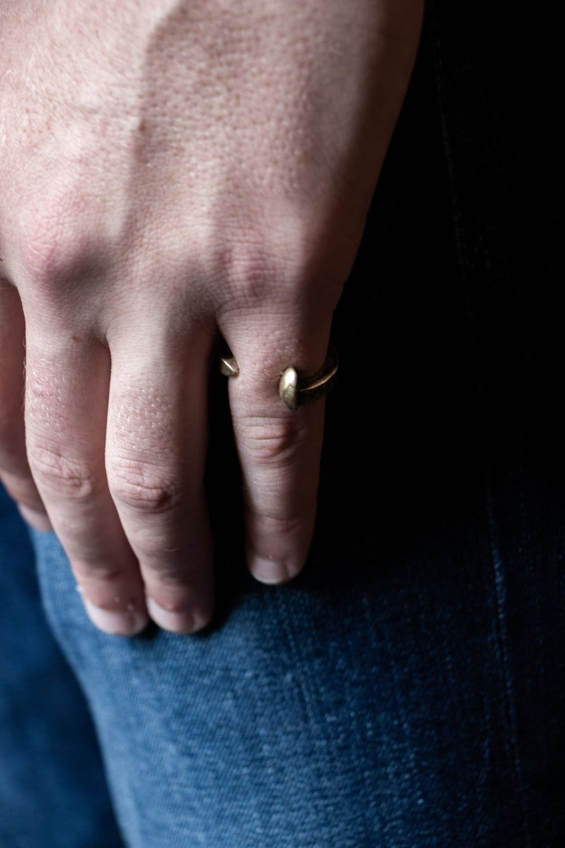 Railroad Spike Ring | Giles & Brother