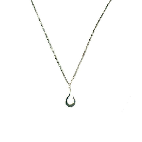 Medium Hook Necklace Sterling Silver | Giles & Brother