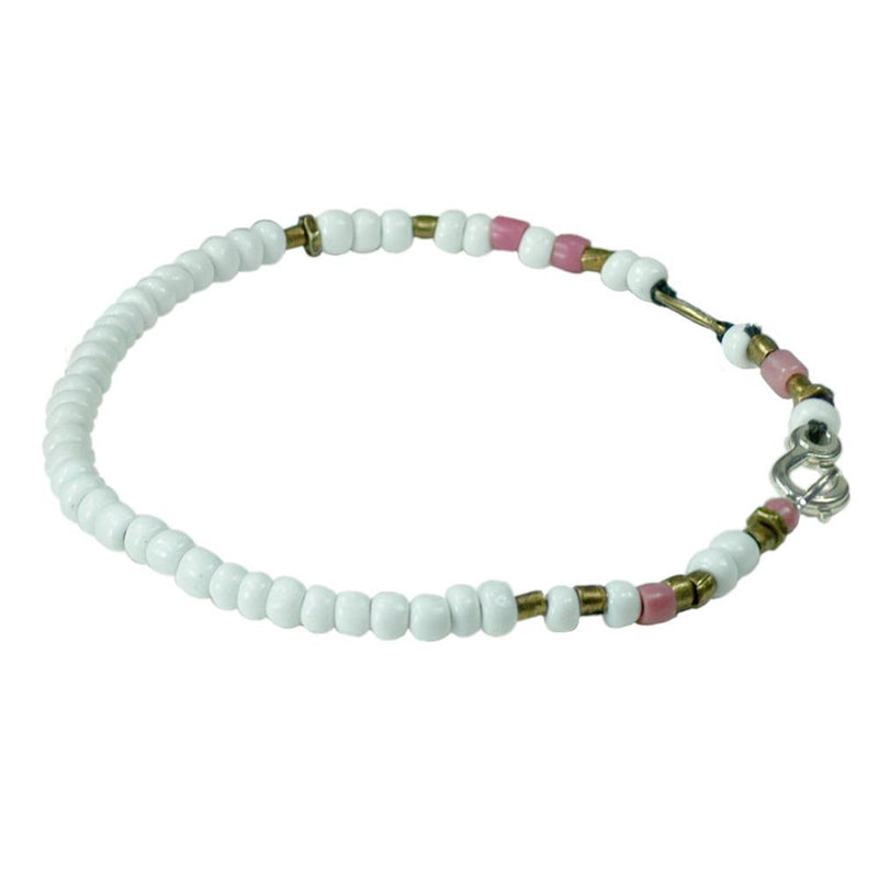 White African Bead Bracelet | Giles & Brother