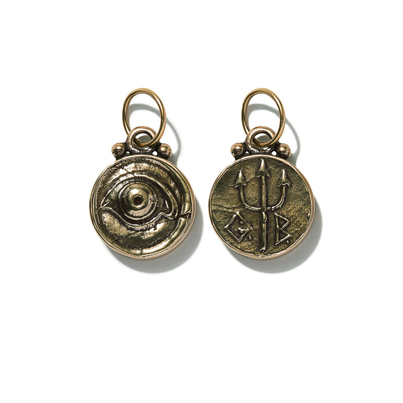 Eye Coin Pendant | Giles & Brother