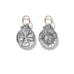 Coptic Cross Coin Pendant | Giles & Brother