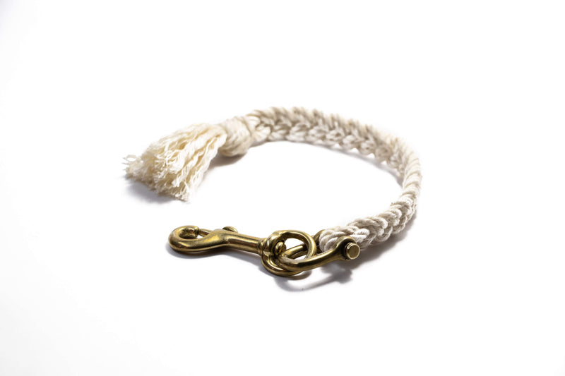 Braided Single Rope Key Fob | Giles & Brother